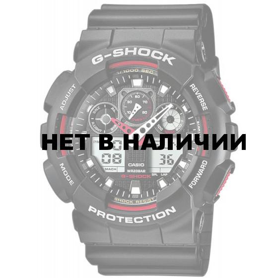 Мужские наручные часы Casio GA-100-1A4 (G-Shock)