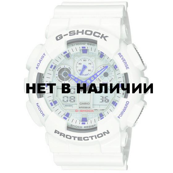 Мужские наручные часы Casio GA-100A-7A (G-Shock)