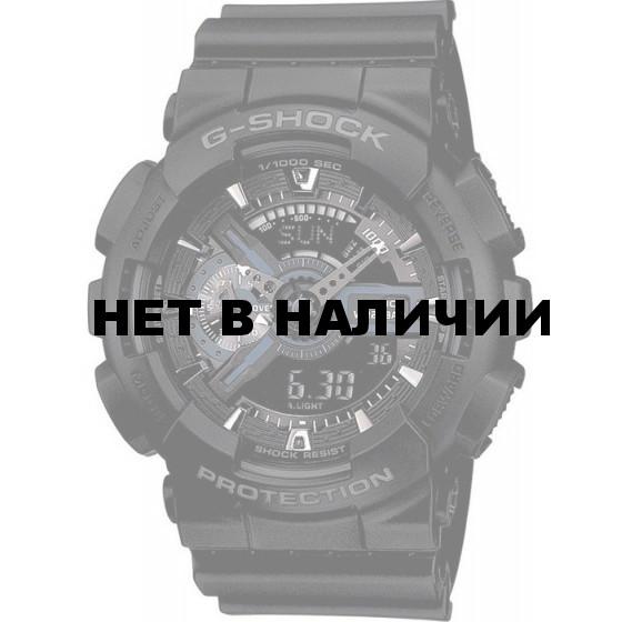 Мужские наручные часы Casio GA-110-1B (G-Shock)
