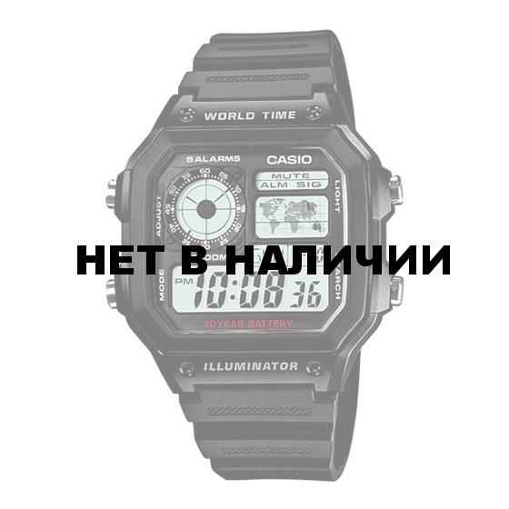 Мужские наручные часы Casio AE-1200WH-1A