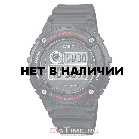Часы наручные Casio W-216H-1A