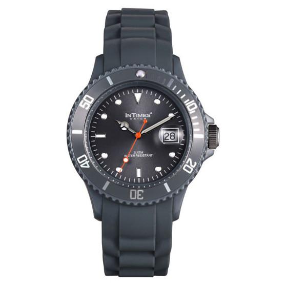 Наручные часы унисекс InTimes IT-044 Dark Grey