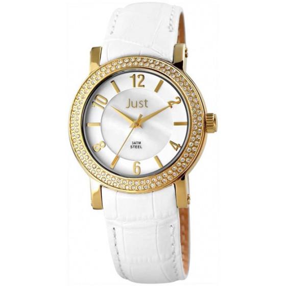 Наручные часы женские Just 48-S9047SL-GD-WH