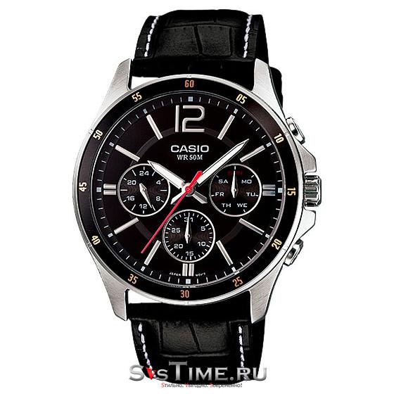 Мужские наручные часы Casio MTP-1374L-1A