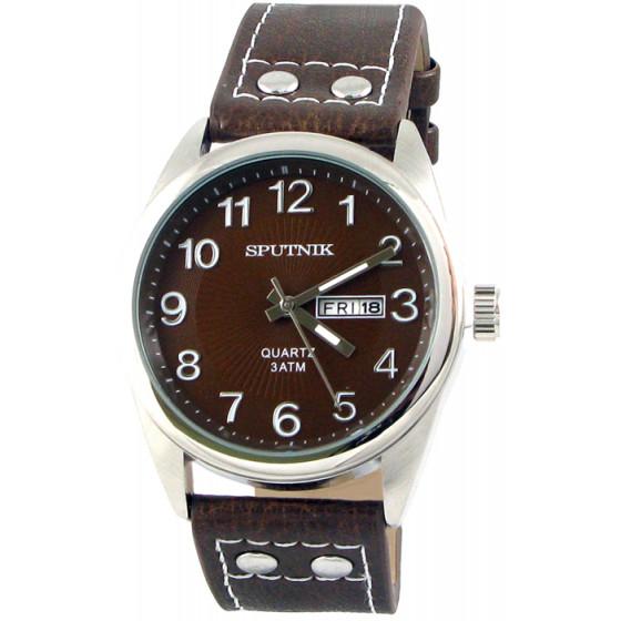 Наручные часы Спутник М-400610/1 (корич.)