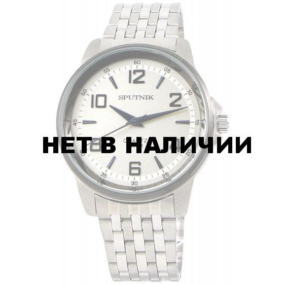 Наручные часы Спутник М-996620/1.3 (сталь,синее оф.)