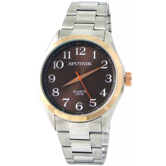 Наручные часы Спутник М-996660/6 (корич.)
