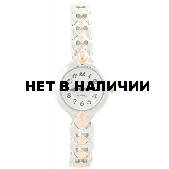 Женские наручные часы Спутник Л-882680/6 (бел.+сталь)