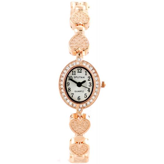Женские наручные часы Спутник Л-900030/8 (бел.+сталь)