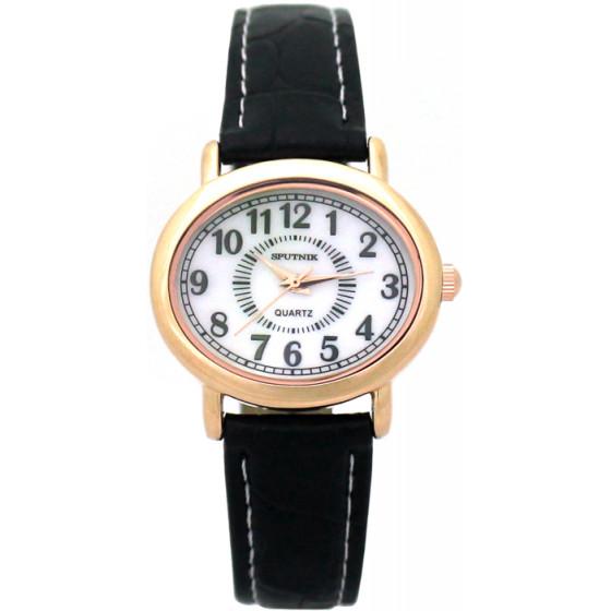 Наручные часы Спутник Л-200970/8 (перл.) ч.р.