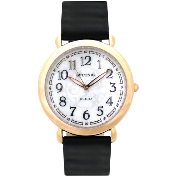 Наручные часы Спутник Л-201031/8 (перл.) ч.р.