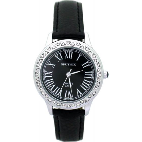 Наручные часы Спутник Л-300331/1 (черн.) ч.р.