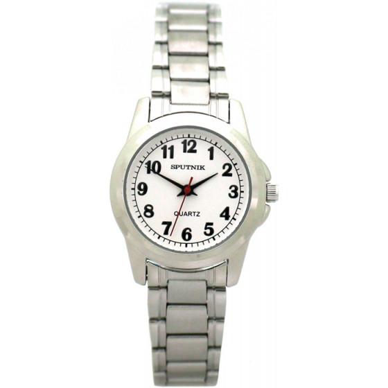Женские наручные часы Спутник Л-800090/1 (сталь)