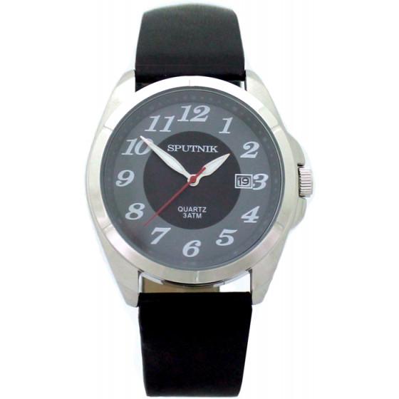 Наручные часы Спутник М-400571/1 (черн.+сер.)