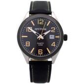 Мужские наручные часы Спутник М-400600/1.3 (черн.,желт.оф.)