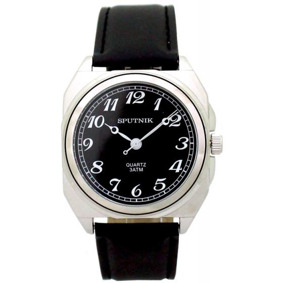 Наручные часы Спутник М-857920/1 (черн.)