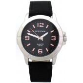 Мужские наручные часы Спутник М-858071/1 (черн.,оранж.оф.)