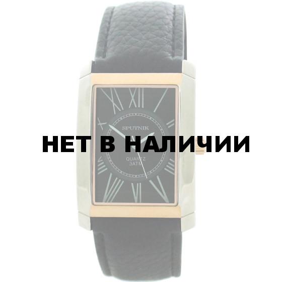 Наручные часы Спутник М-857731/6 (черн.)