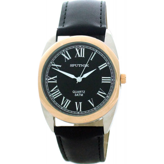 Наручные часы Спутник М-857791/6 (черн.)