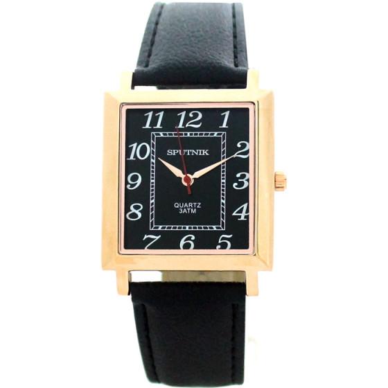 Наручные часы Спутник М-857880/8 (черн.)