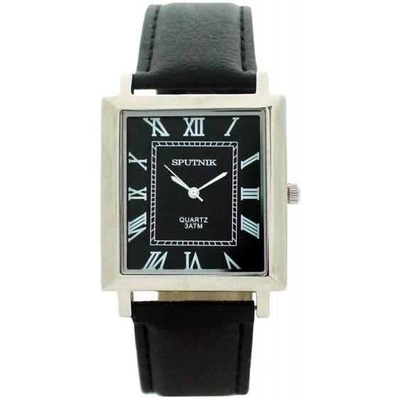 Наручные часы Спутник М-857881/1 (черн.)