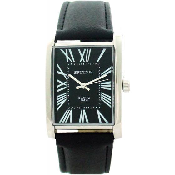 Наручные часы Спутник М-857931/1 (черн.)