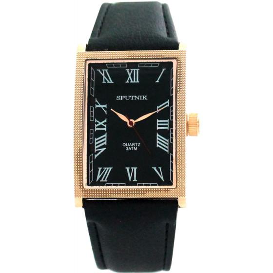 Наручные часы Спутник М-857941/8 (черн.)