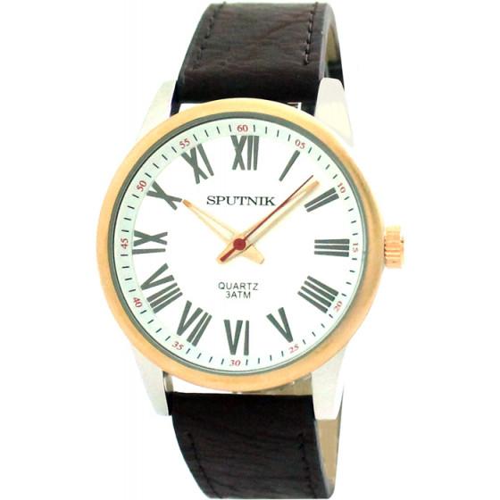 Мужские наручные часы Спутник М-857951/6 (сталь)