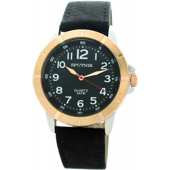 Наручные часы Спутник М-858070/6 (черн.)