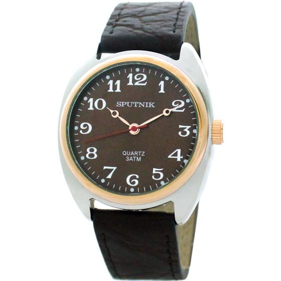 Наручные часы Спутник М-858080/6 (корич.)