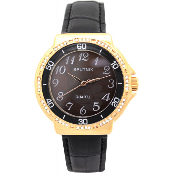 Наручные часы Спутник Л-201000/8.3 (корич.) ч.р.