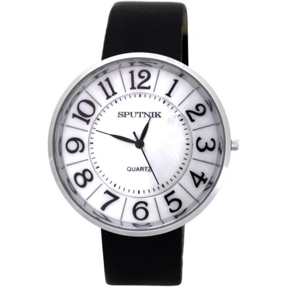 Наручные часы Спутник Л-201050/1 (перл.) ч.р.