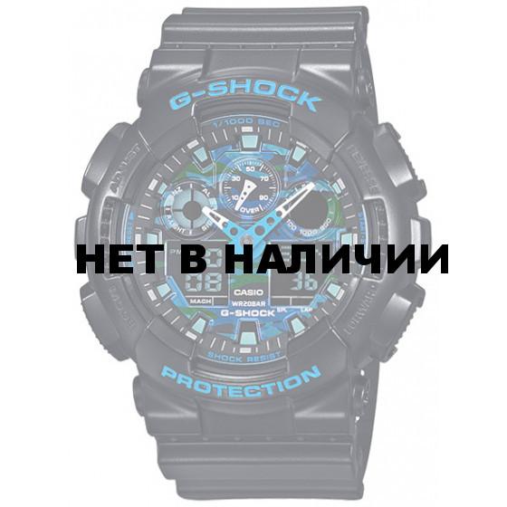 Мужские наручные часы Casio GA-100CB-1A (G-Shock)