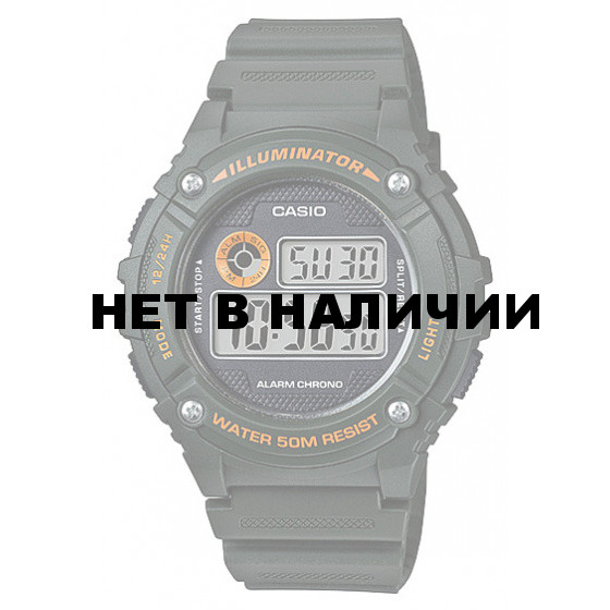 Мужские наручные часы Casio W-216H-3B