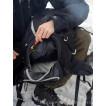 Легкий спортивный рюкзак с фронтальной загрузкой Skill 30, black, 1480.040