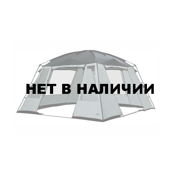Палатка Pavillon Siesta светло-серый/тёмно-серый, 350х350х210 см, 14051