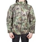 Куртка с капюшоном МПА-26 (ткань софтшелл), камуфляж питон лес