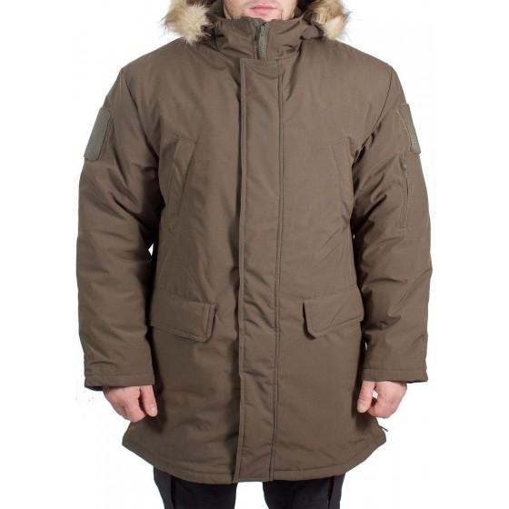 Куртка всесезонная МПА-40 (аляска) (ткань мембрана) хаки