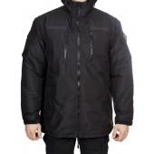 Куртка зимняя под офисную форму (ткань рип-стоп мембрана) черная