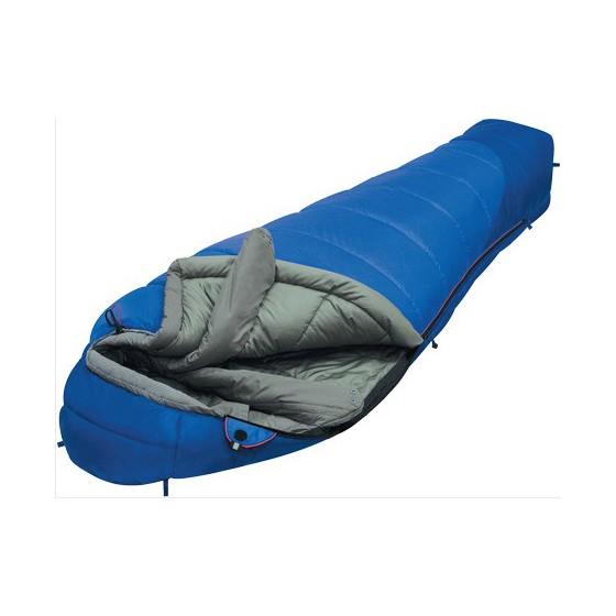 Мешок спальный MOUNTAIN Compact синий, левый
