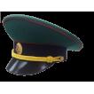 Фуражка Пограничные войска (старого образца) повседневная модельная