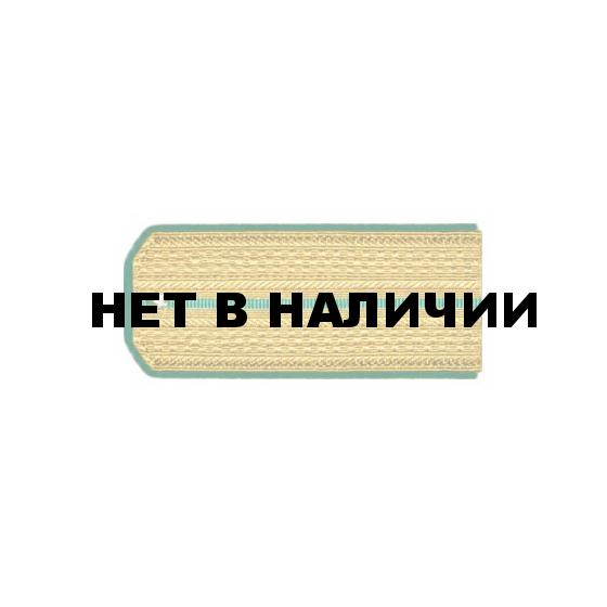 Погоны ПС ФСБ Младшего офицерского состава парадные люрекс