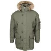 Куртка Аляска олива каматт