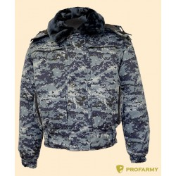 Куртка зимняя П-1 цифра МВД грета
