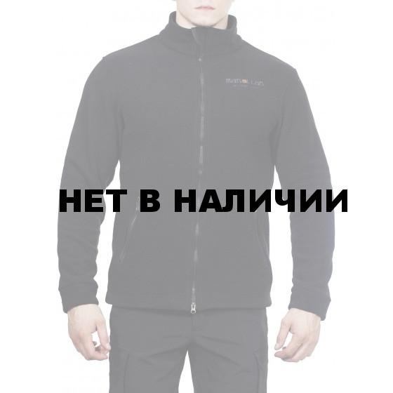 Куртка флисовая с воротником МПА-57 цвет черный