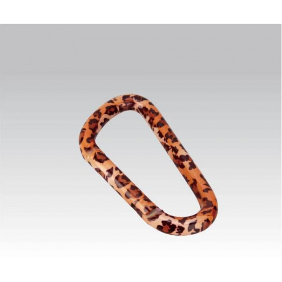Карабин Леопард диам. 8*80мм (упак=10 шт), 3318