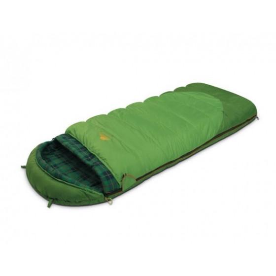Мешок спальный SIBERIA Plus зеленый, левый