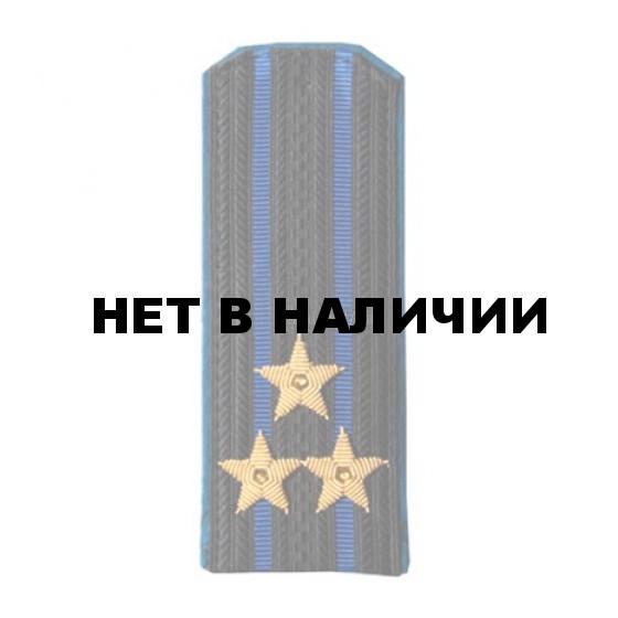 Погоны ФСБ нового образца Полковник вышитые золото