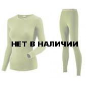 Комплект термобелья для девочек Guahoo: рубашка + лосины (22-0571 S/LGN / 22-0571 P/LGN)
