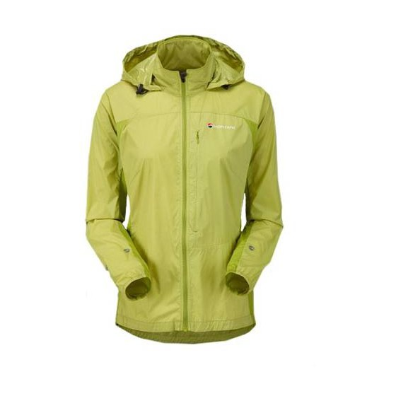 Куpтка жен. LITE-SPEED JKT, L 40/42 vivid green, FLIJAVIVN1